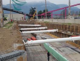 Esecuzione tunnell, Bolzano (BZ)