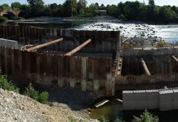 Centrale idroelettrica sul Fiume Adda, Zelo Buon Persico (LO)